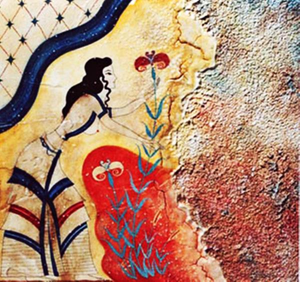 κολιέ μακρύ the blue bird and the beauty
