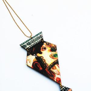 κολιέ μακρύ la parisiene pendant main product photo