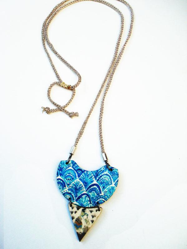 the saffron picker necklace product photo2