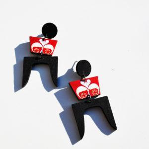 χειροποίητα σκουλαρίκια kore collection